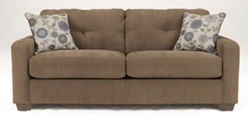 Fabric Toffee Sofa New Image Furniture Leasing